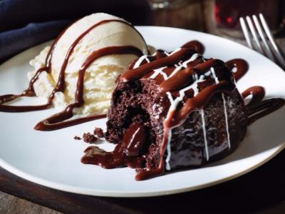 Triple chocolate meltdown